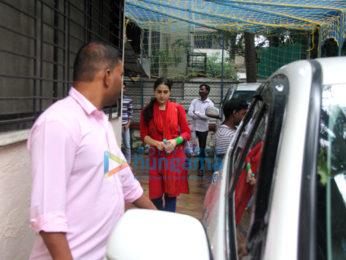 Sara Ali Khan snapped outside her dance class