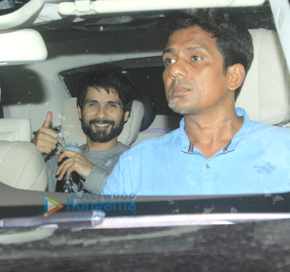 Shahid Kapoor Spotted at Sunny Super Sound
