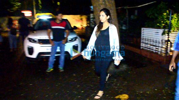 Shahid Kapoor and Mira Rajput snapped in Bandra