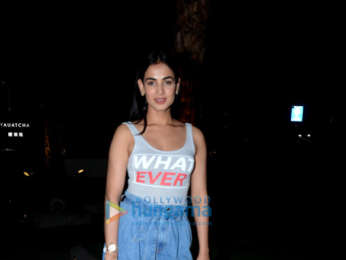 Sonal Chauhan snapped at BKC