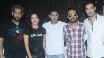 Sunny Leone, Siddhant Kapoor, Prateik Babbar at fund raiser for KERALA flood victims