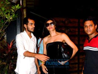 Sushmita Sen snapped in Bandra