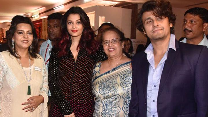 Aishwarya Rai Bachchan, Sonu Nigam and Ronit Roy grace the IMC Ladies Exhibition   Part 1