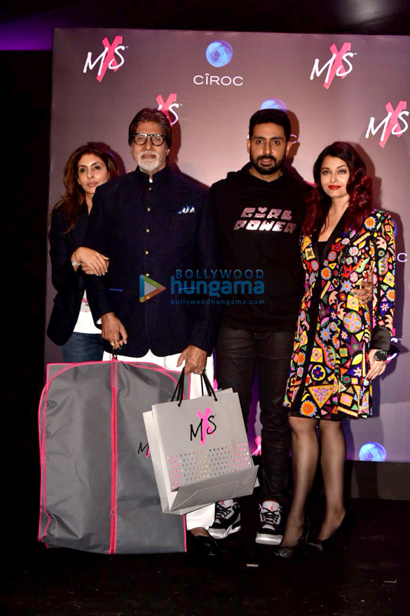 Amitabh Bachchan, Navya Naveli Nanda, Jaya Bachchan and others snapped at Shweta Bachchan Nanda's label launch with Monisha Jaising (13)