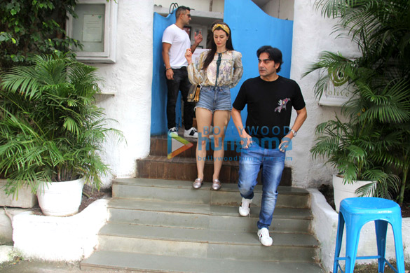 Arbaaz Khan, Giorgia Andriani, Amrita Arora AND others spotted at Olive