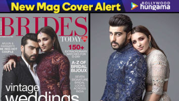Arjun Kapoor and Parineeti Chopra on Brides Today Cover