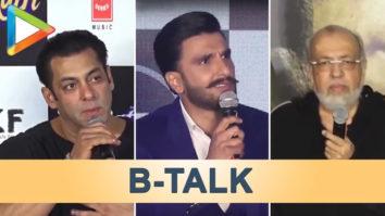 B-talk featuring Salman Khan, Katrina Kaif, J.P. Dutta & Ranveer Singh!!!