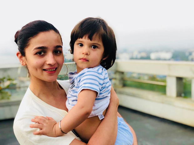 CUTE! Karan Johar shares an adorable picture of his girls Alia Bhatt and daughter Roohi