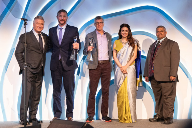 Dia Mirza and Alec Baldwin host UN's Champions of the Earth Awards