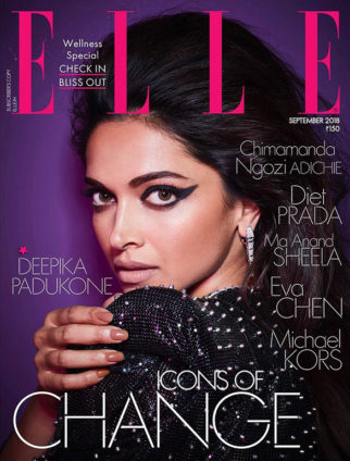 Deepika Padukone On The Cover Of Elle
