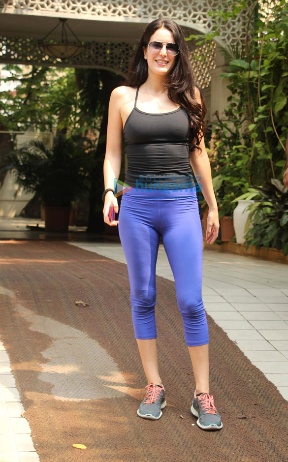 Isabel Kaif spotted at the gym in Bandra
