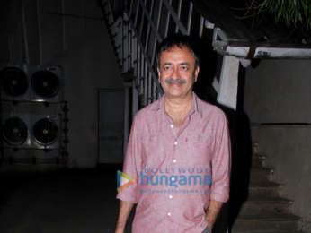 Kareena Kapoor Khan, Sunny Leone and Rajkumar Hirani snapped at Mehboob Studios