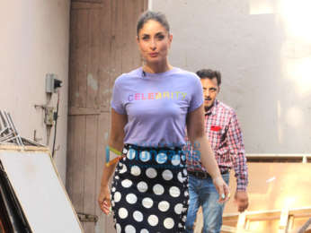 Kareena Kapoor Khan and Sunny Leone snapped at Mehboob Studios