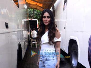 Kareena Kapoor Khan snapped at the Ishq 104.8 FM office