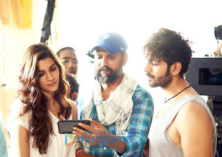 On The Sets Of The Movie Luka Chuppi