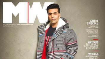 Karan Johar On The Cover Of MW