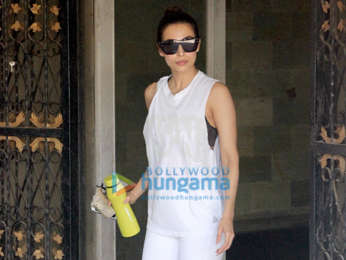 Malaika Arora snapped at the gym