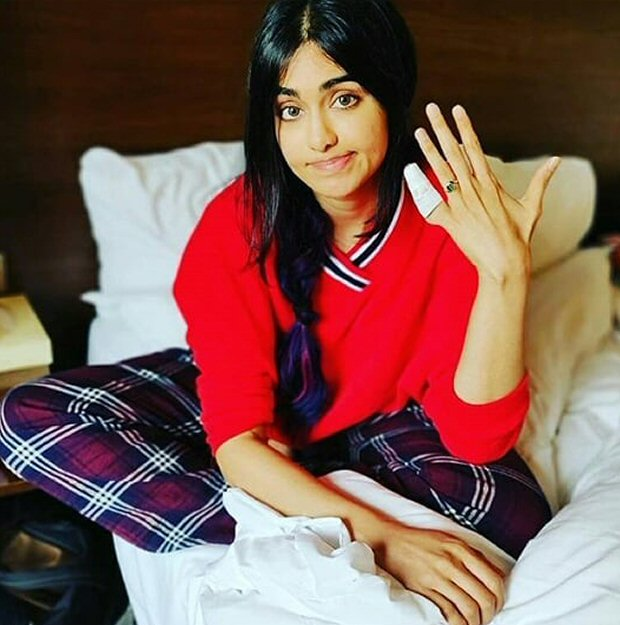 Ouch! Adah Sharma injures herself on sets of Commando 3