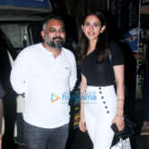 Rakul Preet Singh spotted at Pali Bhavan in Bandra