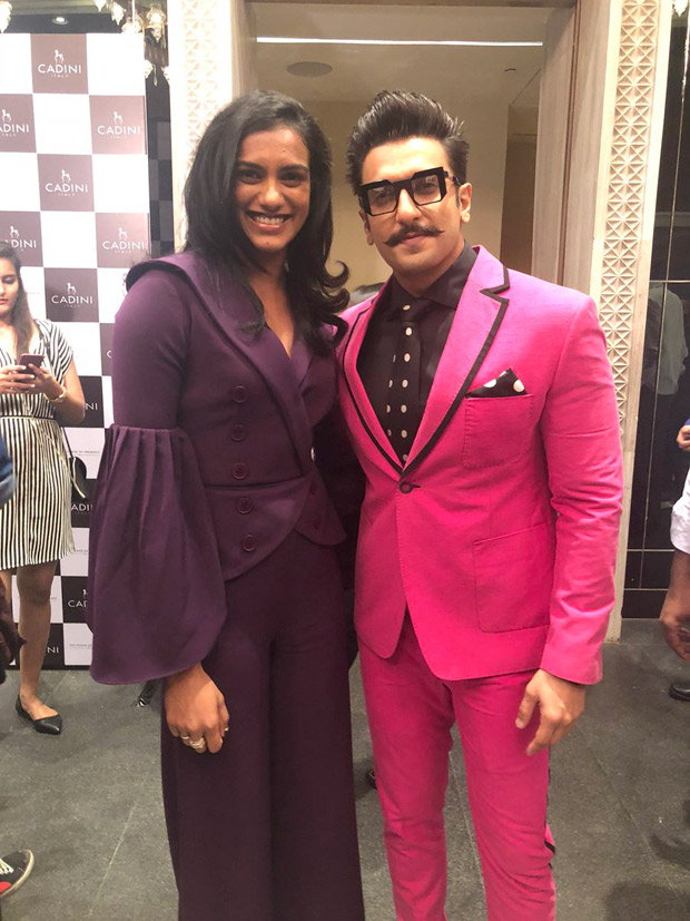 Ranveer Singh and PV Sindhu are the newest entrants of the MUTUAL ADMIRATION SOCIETY (Read tweets)