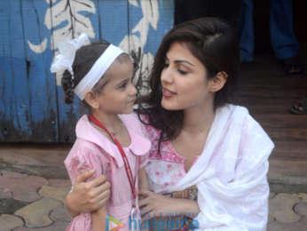 Rhea Chakraborty snapped in Bandra