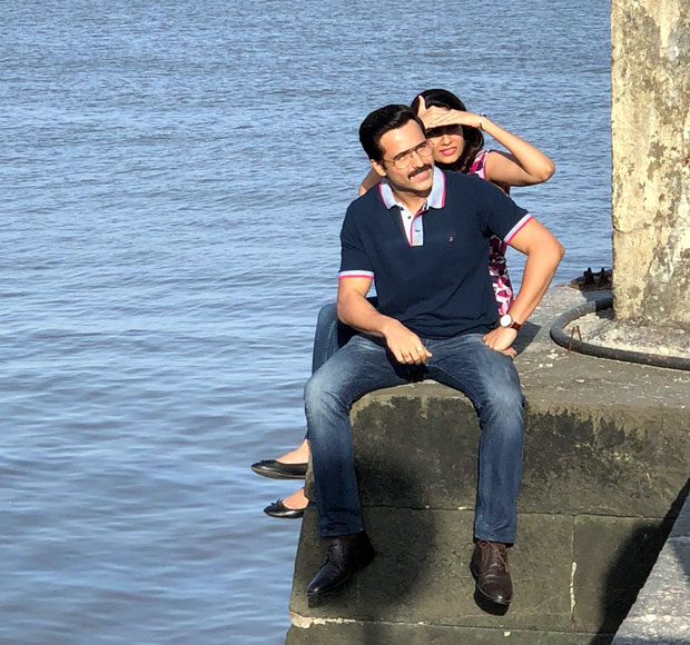 SPOTTED: Emraan Hashmi and his new leading lady Shreya Dhanwanthary shoot for Cheat India in Mumbai