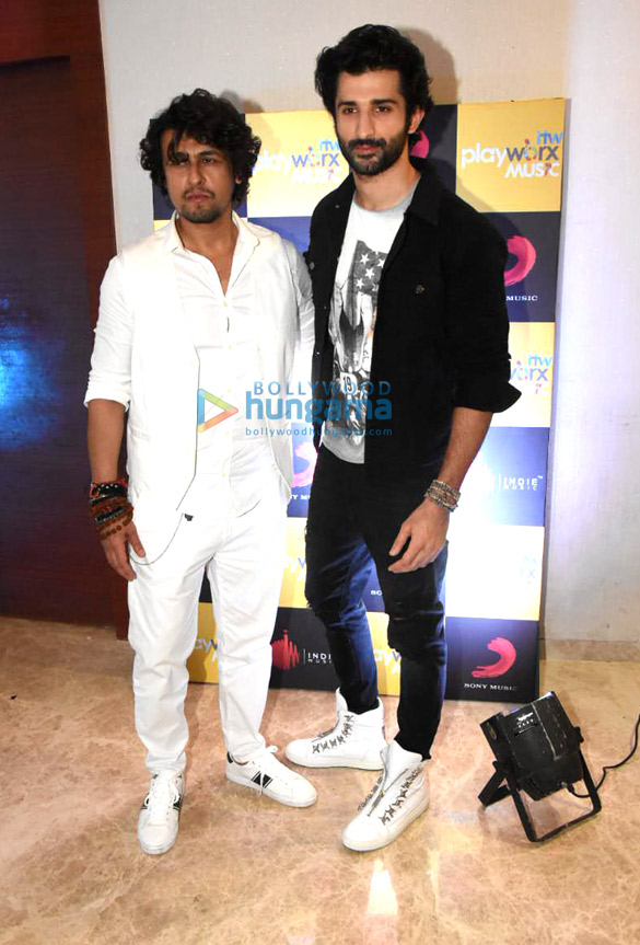 Sonu Nigam graces the Sony music song launch