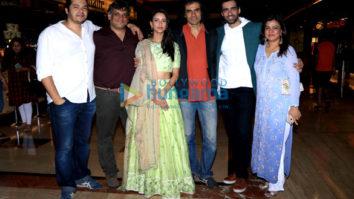 Star cast of 'Laila Majnu' spotted at PVR ECX