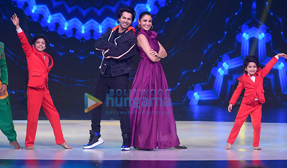 Varun Dhawan, Anushka Sharma and Madhuri Dixit snapped on