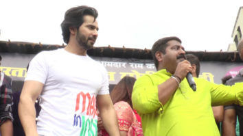 Varun Dhawan SPOTTED at Dahi Handi celebration of 2018