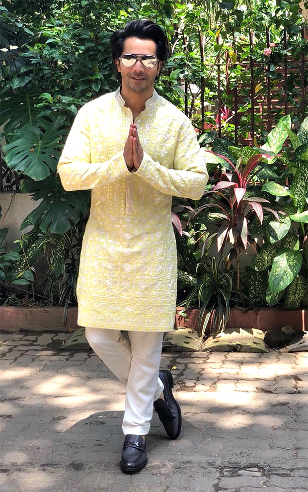 Varun Dhawan in Manish Malhotra for Sui Dhaaga - Made in India promotions (4)