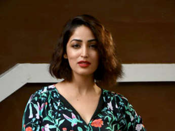 Yami Gautam and Divyendu Sharma snapped at T-Series office for Batti Gul Meter Chalu promotions