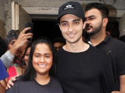 Aayush Sharma & Arpita Khan visit Gaiety Galaxy for LoveYatri's public reaction