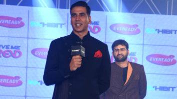 Akshay Kumar Walks for Lalit Dalmia at Exhibit Tech Fashion Tour