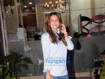 Amrita Arora snapped at Muah salon