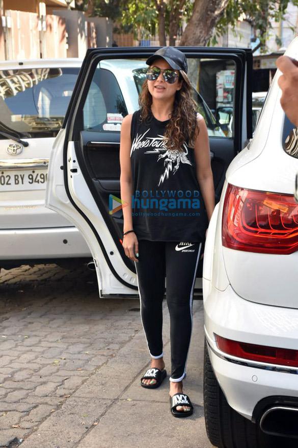 Amrita Arora spotted at spa in Bandra