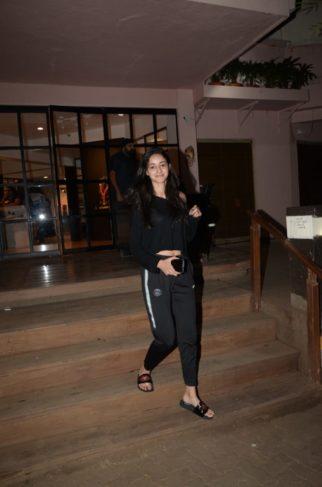 Ananya Panday snapped with mom at Monisha Jaising's showroom