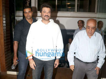 Anil Kapoor snapped attending an event
