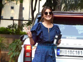 Anushka Sharma snapped at Aanand L. Rai's office