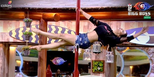 Bigg Boss 12: Nehha Pendse's scintillating moves, Jasleen Matharu's SEXY pole dance for Anup Jalota (Watch video)