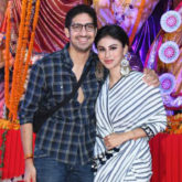 CHECK OUT:Mouni Roy Graces Durga Pooja celebration in Vile Parle