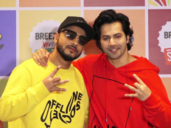 CHECK OUT Varun Dhawan & Raftaar Announcing winners of Breezer Vivid Suffle season 2