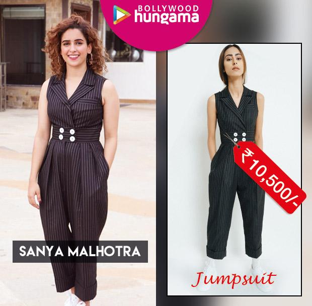 Celebrity Splurges - Sanya Malhotra