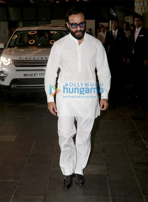 Celebs attend the prayer meet of late Krishna Raj Kapoor at Sahara Star hotel (2)