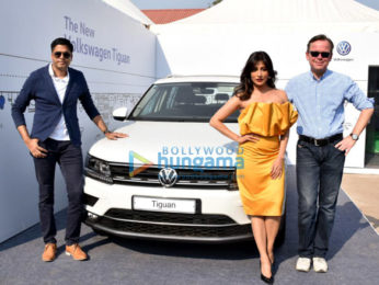 Chitrangda Singh graces the launch of the Volkswagen Tiguan