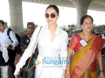 Deepika Padukone, Kartik Aaryan and others snapped at the airport
