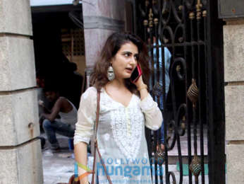 Fatima Sana Shaikh spotted at Excel Entertainment office