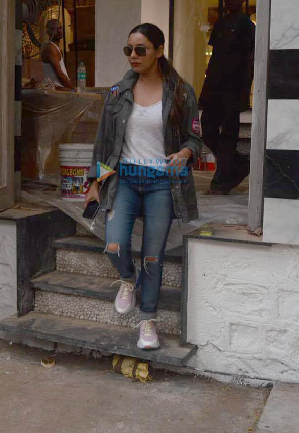 Gauri Khan snapped at The Korner House in Bandra