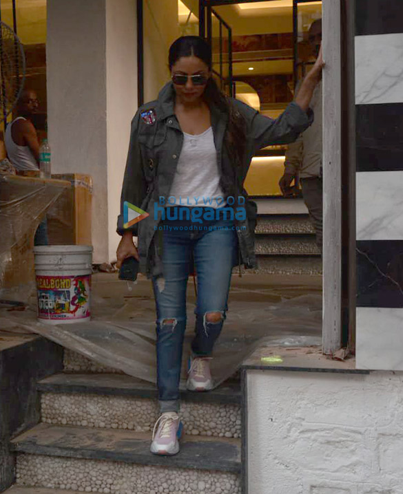 Gauri Khan snapped at The Korner House in Bandra