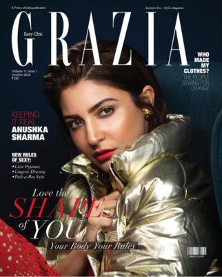 Anushka Sharma On The Cover Of Grazia, Oct 2018